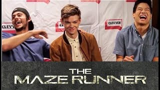 Download Maze Runner Cast Will Crack You Up Video