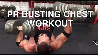Download 150lb Unilteral Dumbbell Bench Press Chest Workout Video