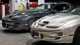Download TURBOCHARGED vs SUPERCHARGED Trans Am STREET Battle! Video