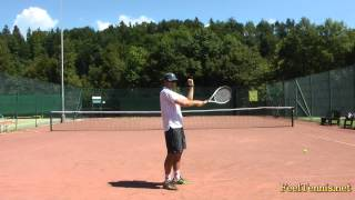 Download How To Improve A Top Spin Tennis Serve Video