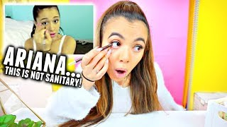 Download I Tried Following An Ariana Grande Makeup Tutorial... I donut know how to do makeup😂 Video
