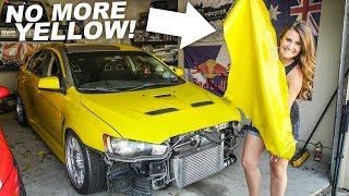Download Peeling yellow plasti-dip off my ENTIRE CAR!! Video