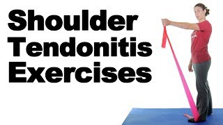 Download Shoulder Tendonitis Exercises for Pain Relief - Ask Doctor Jo Video