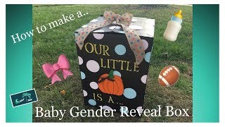 Download How to Make a Baby Gender Reveal Box Video