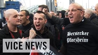 Download Anti-Islamist Riots in Germany: Hooligans Against Salafists Video