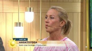 Download Ansiktsyoga: Yoga bort dina ansiktsrynkor - Nyhetsmorgon (TV4) Video