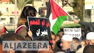 Download Palestinians in Israel protest home demolitions Video