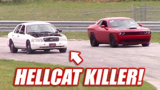 Download Supercharged Cop Car TAKES DOWN a Hellcat, GT500, and the BoostedBoiz! Video