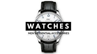 Download 3 Watches Every Man Should Have - Dress, Chronograph, Diving, Sport - IWC, Rolex, Omega, Nomos Video