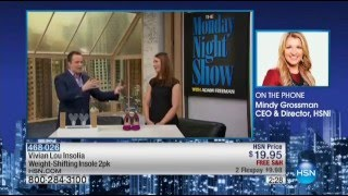 Download Vivian Lou Insolia Weight-Shifting Insoles | HSN Monday Night Show with Adam Freeman (Jan 4, 2016) Video