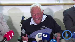 Download Australian scientist, 104, speaks publicly before planned death Video