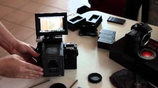 Download RED Scarlet assembly and first shots. Video