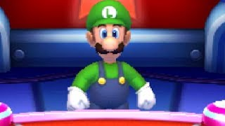 Download Mario Party The Top 100 - Luigi wins by doing absolutely nothing Video