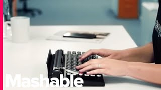Download This Modern Keyboard Is a Blast from the Past - Mashable Deals Video