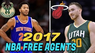 Download 10 NBA Free Agents Who MIGHT Switch NBA TEAMS this SUMMER! 2017 NBA Free Agents Video