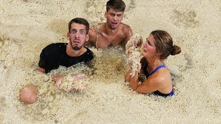 Download Last To Leave Ramen Noodle Pool Wins $20,000 Video