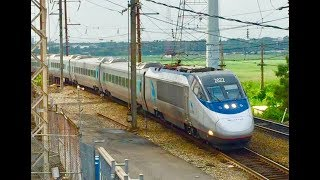 Download Northeast Corridor: Amtrak & NJ Transit Railfanning In North Bergen, NJ Video