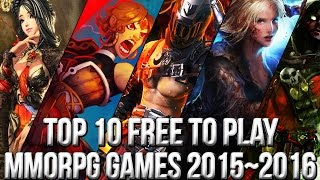 Download Top 10 Best Free to Play MMORPG Games 2015~2016 | FreeMMOStation Video