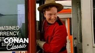 Download Conan Becomes A Canadian Mountie - Conan25: The Remotes Video
