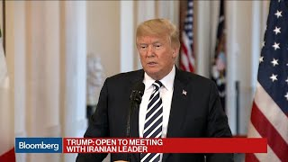 Download Trump Says He's Willing to Meet With Iran's Rouhani Video
