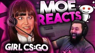 Download Moe Reacts To Reddit(Female Csgo) Video