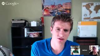 Download Breakthrough Blogging Hangout - Nathan Barry on Making and Selling Your Thing Video