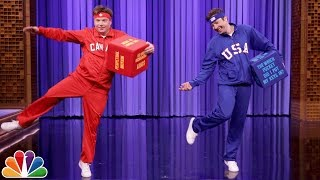 Download Mike Myers and Jimmy Have a Dice Dance-Off Video