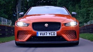 Download 2018 Jaguar XE SV Project 8 (600HP) C63 AMG killer [YOUCAR] Video