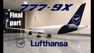 Download BOEING 777-9X Lufthansa new livery/ FINAL Video