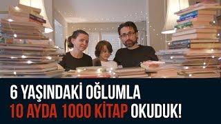 Download 6 yaşındaki oğlumla 10 ayda 1000 kitap okuduk! Video