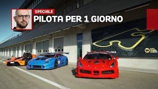 Download Quanto costa pilotare una Ferrari o una Lamborghini... da corsa! Video