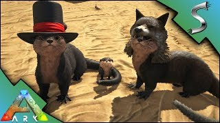 Download ARK OTTER TAMING! HOW TO TAME AND BREEDING! BABY OTTERS + HATS! - Ark: Survival Evolved [S4E30] Video