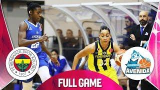 Download Fenerbahce v Perfumerias Avenida - Full Game - EuroLeague Women 2018-19 Video