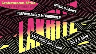 Download Lakritz am 7.2.19: «Eifach Züri» Late Night im Landesmuseum Video