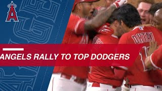 Download Angels stun the Dodgers with walk-off win in the 9th Video