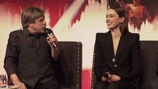 Download Star Wars The Last Jedi European Press Conference Cast Interviews Video