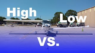 Download Transitioning from a High Wing to a Low Wing Airplane | Explained Video