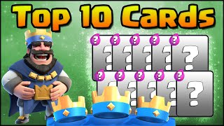 Download Clash Royale - Top 10 Cards! Countdown of the Best Cards in the Game Right Now Video