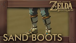 Download Zelda Breath of the Wild - How to Get Sand Boots & Snow Boots Video