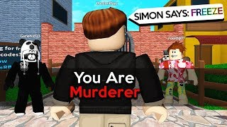 Download YOUTUBER RAGES in SIMON SAYS! - ROBLOX MM2 Video