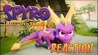 Download ITS BEAUTIFUL!!!! - Spyro Reignited Trilogy REACTION Trailer Video