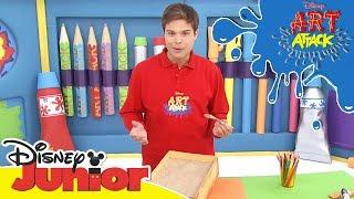 Download Art Attack Bastelclip #21 - Schatz   Disney Junior Video