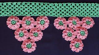 Download WOW !! Door Hanging Toran Making at Home   Woolen Toran New Design   Door Hanging Crochet Video