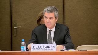 Download Opening of the session by Mr. Eguiguren, Permanent Representative of Chile, Chair IOM Council Video