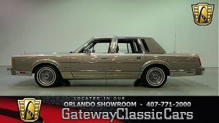 Download 1989 Lincoln Town Car Cartier Gateway Orlando #1166 Video