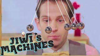 Download Newton's Cradle - Jiwi's Machines Ep. 1 - SCIENCE EXTRA Video