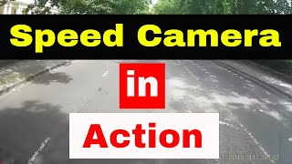 Download Speed camera flashes Addison Lee cab Video