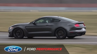 Download Vaughn Gittin Jr. And ″That Dude In Blue″ Hoon Around The Track | Shelby GT350 | Ford Performance Video