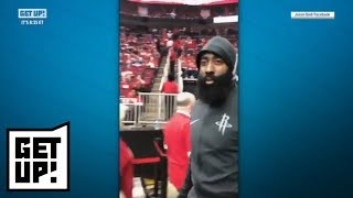 Download Dion Waiters and Jalen Rose react to James Harden slapping phone from heckling fan   Get Up!   ESPN Video
