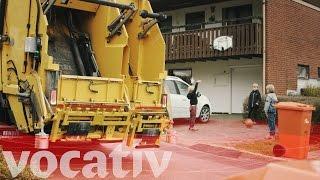 Download Volvo's Autonomous Trucks Will Collect Your Trash Video